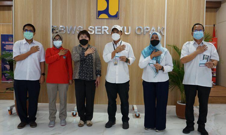 Pegawai BBWS Serayu Opak Jalani Vaksin Dosi II