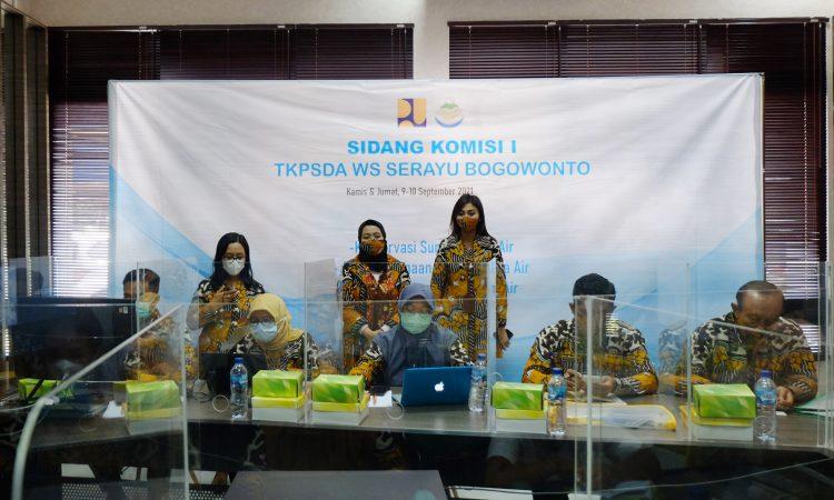 TKPSDA Serbog Gelar Sidang Komisi I Bahas Konservasi dan Pendayagunaan SDA