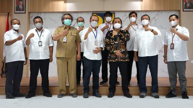Penyerahan Dokumen KKRL Kegiatan Pengendali Banjir Kabupaten Kulon Progo