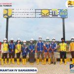 Kunjungan Lapangan BAPPEDA Provinsi Kalimantan Timur di lokasi pembangunan Bendungan Sepaku