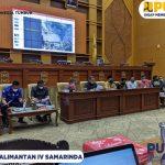 BWS Kalimantan IV Samarinda menghadiri Rapat yang di laksanakan oleh Komisi III DPRD Kota Samarinda.