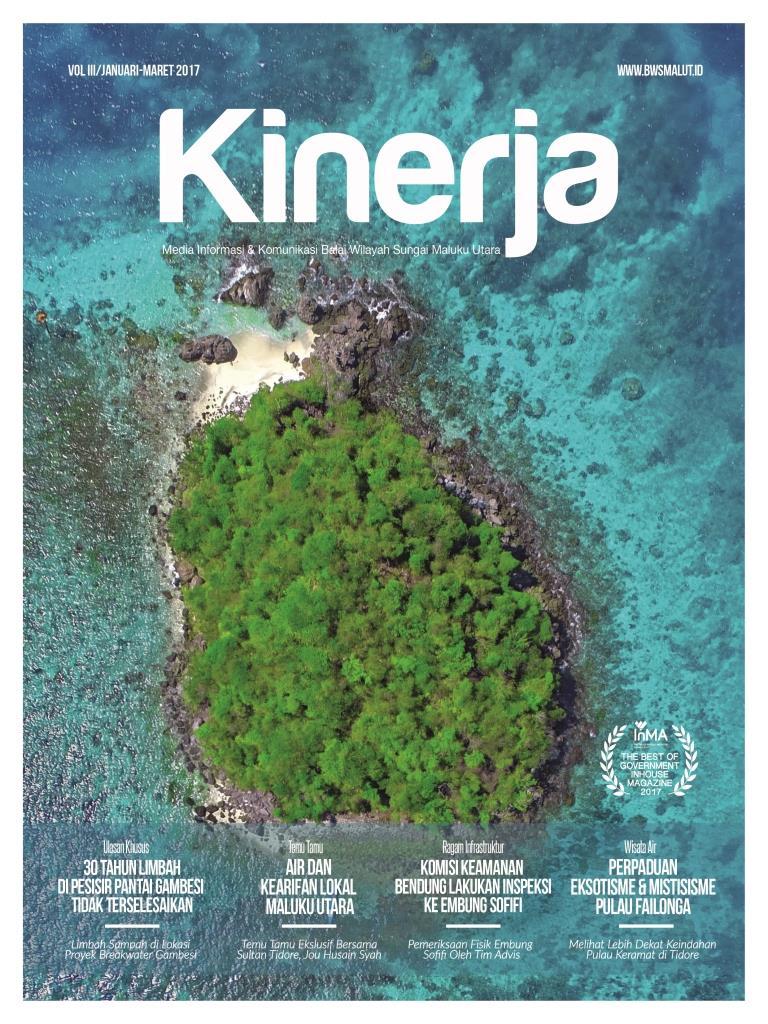 Majalah Kinerja Vol.III Jan-Mar 2017