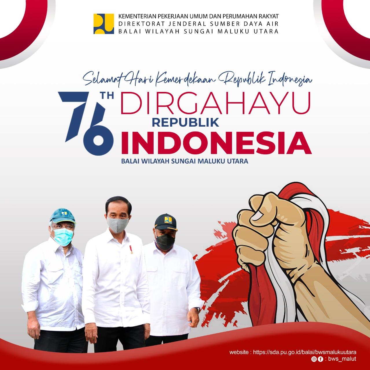 Dirgayahu Republik Indonesia ke 76
