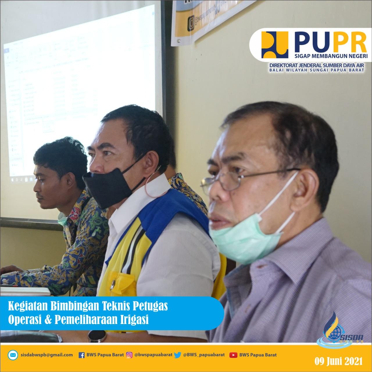 Pelatihan Petugas OP Irigasi SDA PB: Tingkatkan Pengetahuan dan Wadah Silaturahmi