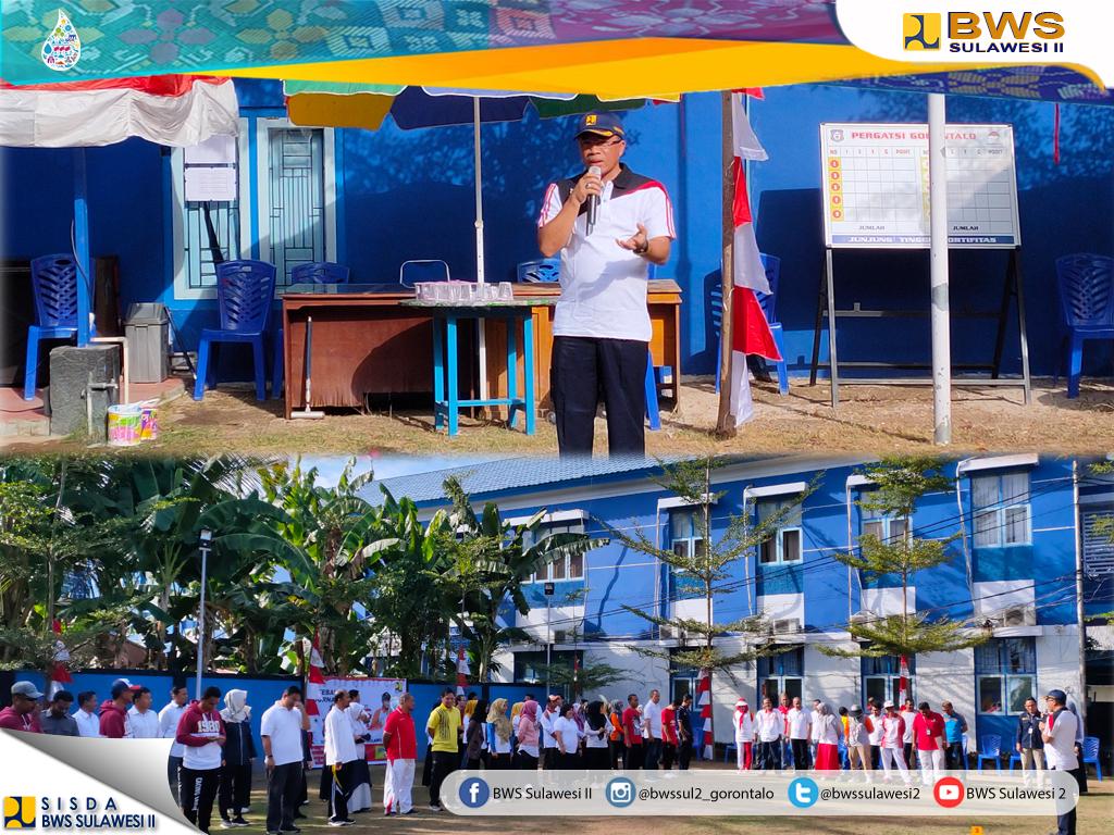 BWS Sulawesi II Semarakkan Hari Kemerdekaan RI ke-74