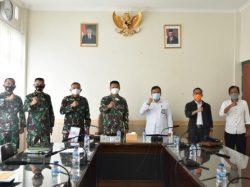 BWS Sulawesi II Gorontalo Kunjungan Silaturahmi ke Korem 133/NW