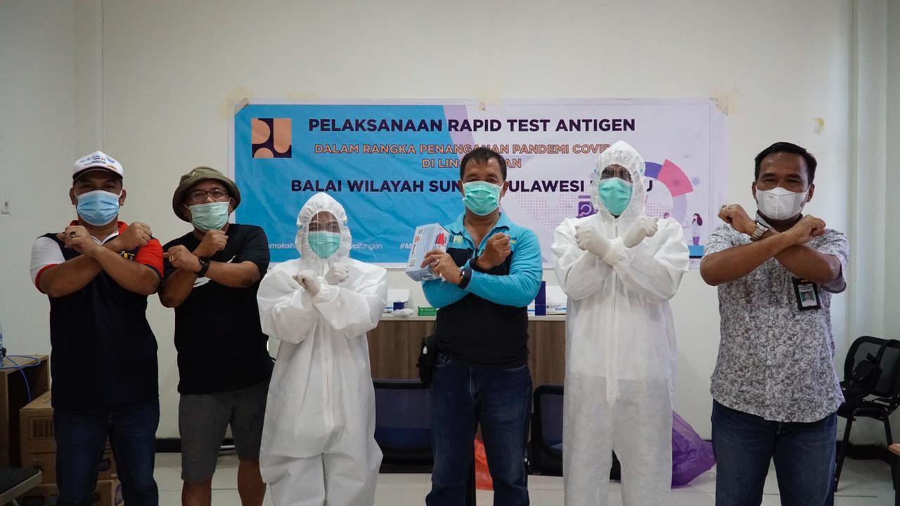 pegawai-bws-sulawesi-iii-palu-di-mamuju-jalani-tes-rapid-antigen