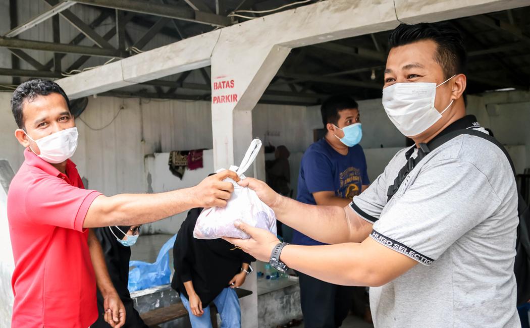 Pelaksanaan Penyembelihan Hewan Kurban BWS Sumatera II