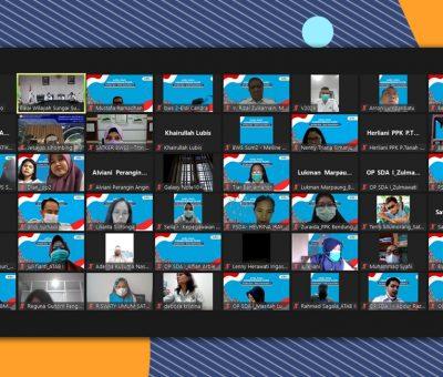 Apel Pagi Senin Pagi Secara Virtual BWS Sumatera II