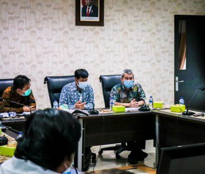 Kunjungan Tim KMC Bappenas di BWS Sumatera II