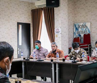 Kunjungan Tim Pemantauan dan Evaluasi Proyek Strategis Nasional (TPEPSN) di BWS Sumatera II