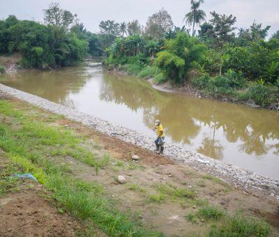 Monitoring Kepala Satuan Kerja SNVT PJSA ke Pengendalian Daya Rusak Sungai Belawan