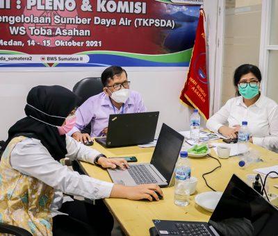 Sidang Ketiga Pleno dan Komisi TKPSDA WS Toba-Asahan