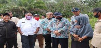 Gambar Kunjungan Kepala Balai Wilayah Sungai Sumatera III di Kabupaten Kampar