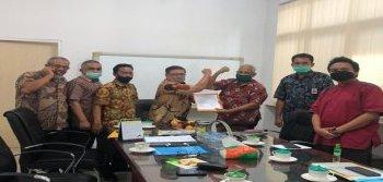 Gambar Serah Terima Jabatan  Satker Balai Wilayah Sungai Sumatera III