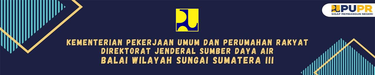 Logo BWS Sumatera III