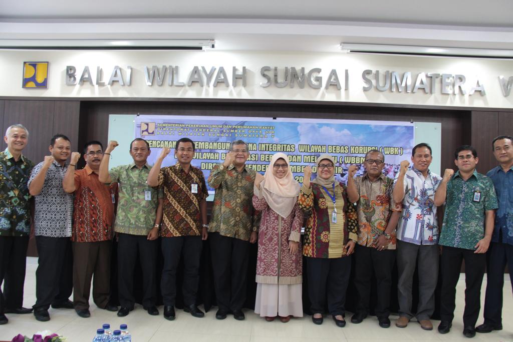 Pencanangan Pembangunan Zona Integritas WBK dan WBBM di Lingkungan Direktorat Jenderal SDA
