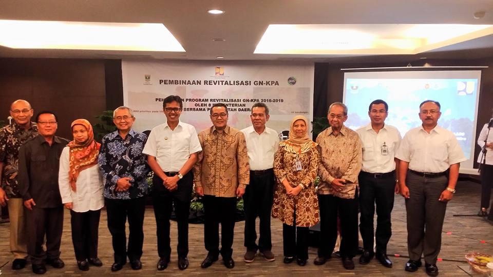 Pembinaan Revitalisasi GN-KPA di Padang