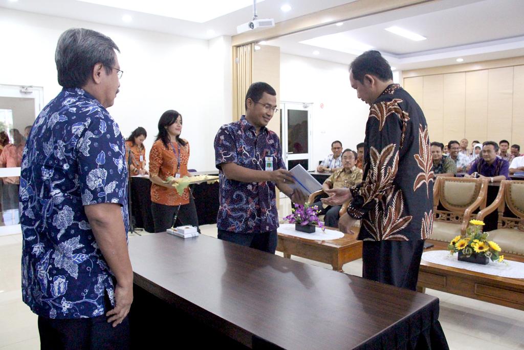 Serah Terima Jabatan Kepala Balai Wilayah Sungai Sumatera V