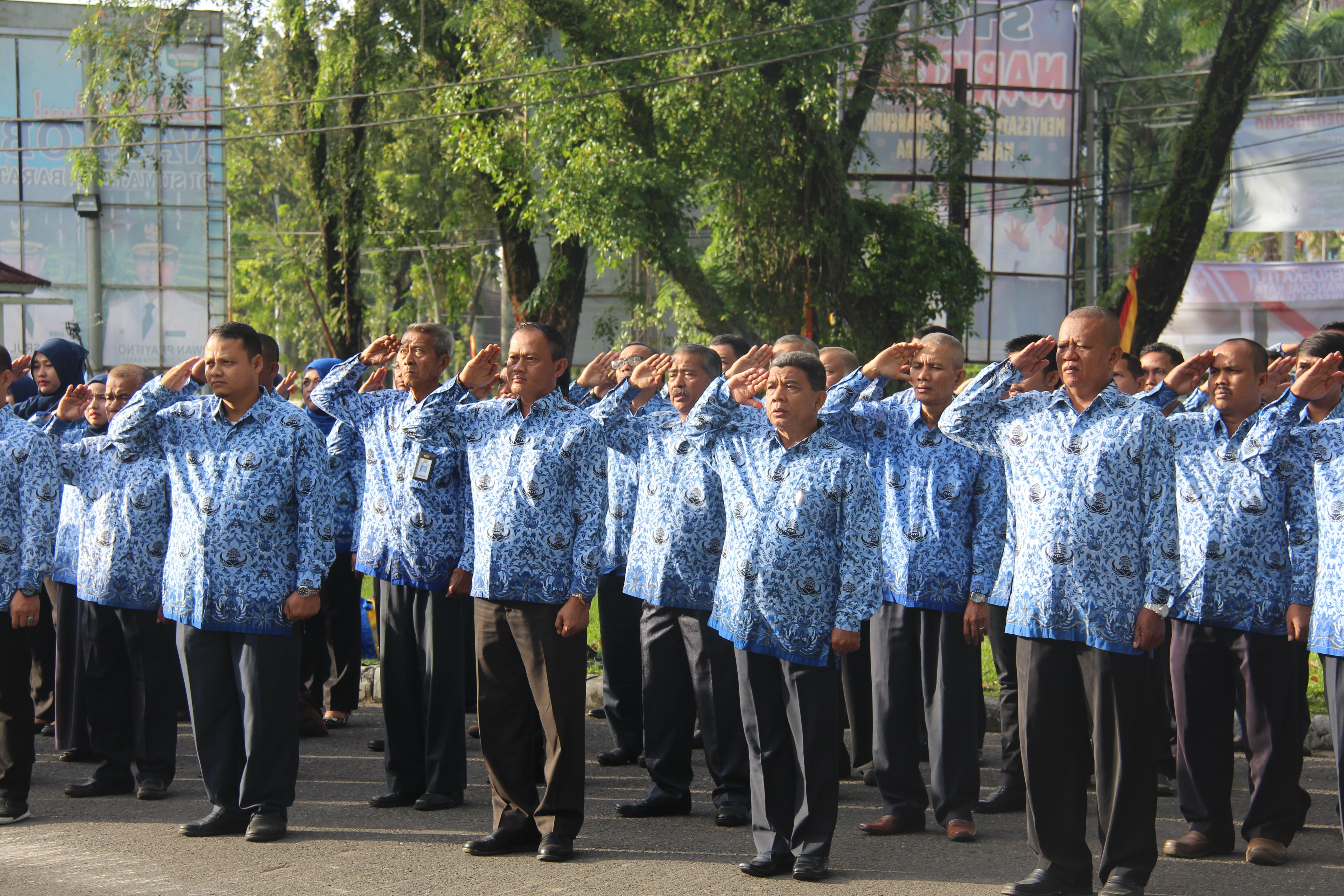 Upacara Bendera dan Pawai 17 Agustus 2016 BWS Sumatera V