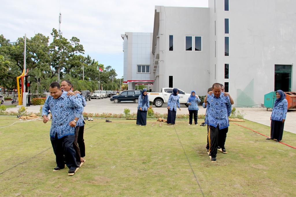 Peringatan HUT Kemerdekaan RI Ke-71 di BWS Sumatera V Padang