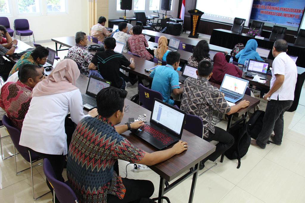 OJT Pengelolaan Sistem Informasi SDA (WISMP II)