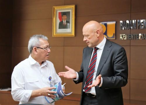 Kementerian PUPR dan UNESCO IHE Jajaki Peluang Kerja Sama Pengembangan Bidang Pengairan