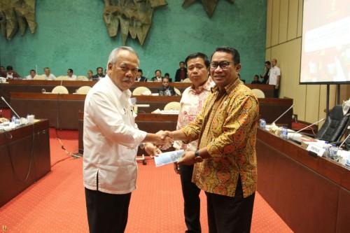 Kementerian PUPR Sampaikan Naskah Akademik RUU Sumber Daya Air Kepada Komisi V DPR