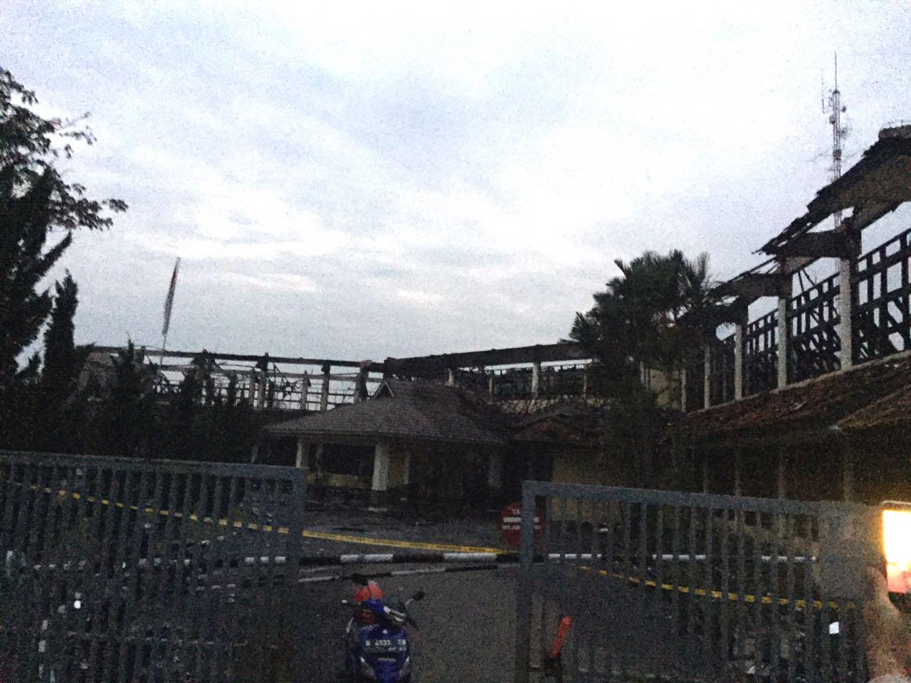 Gedung BBWS Citarum Bandung Terbakar