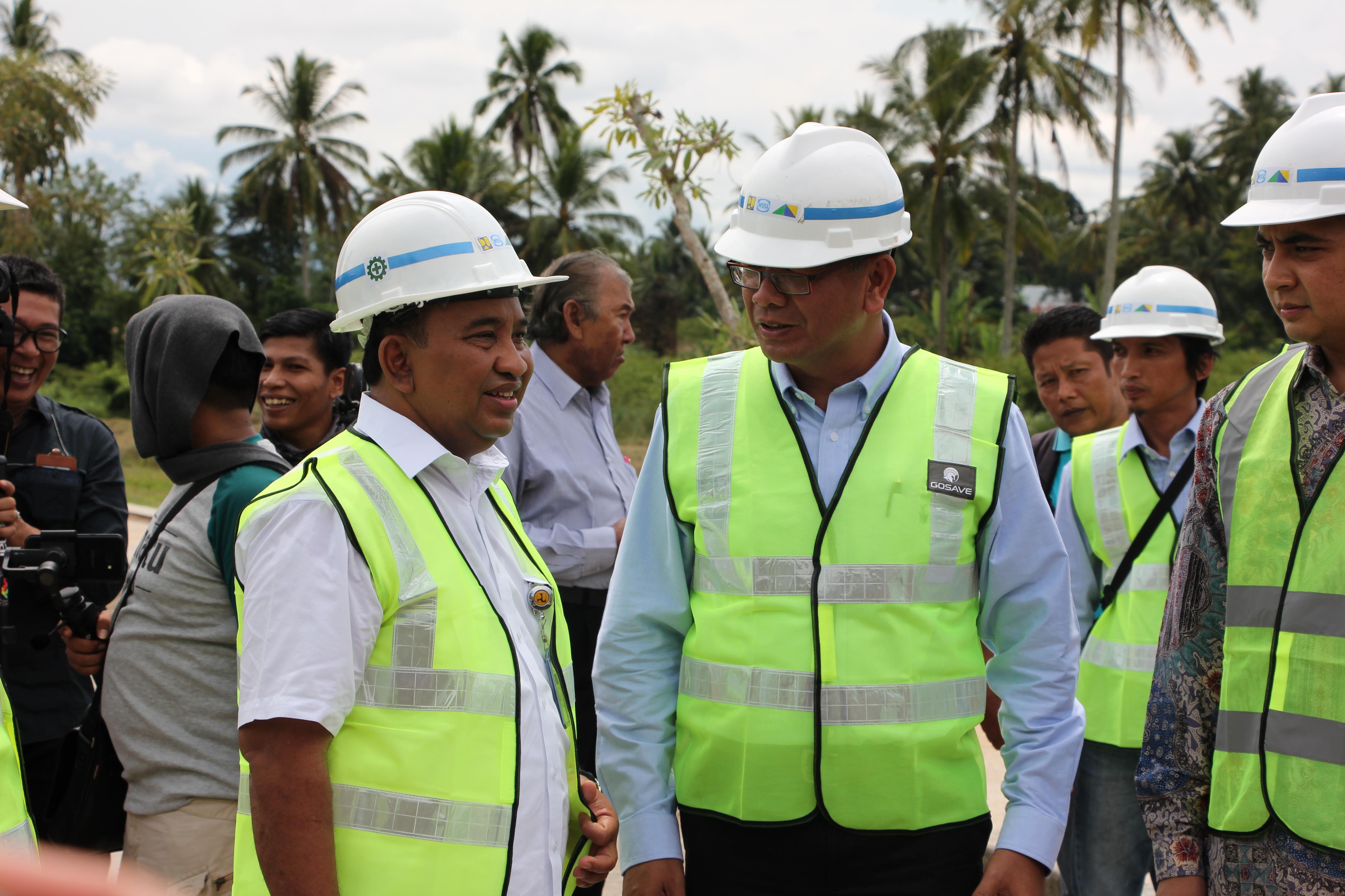 Sosialisasi dan Groundbreaking Pembangunan Sarana/Prasarana Pengendalian Banjir Batang Agam