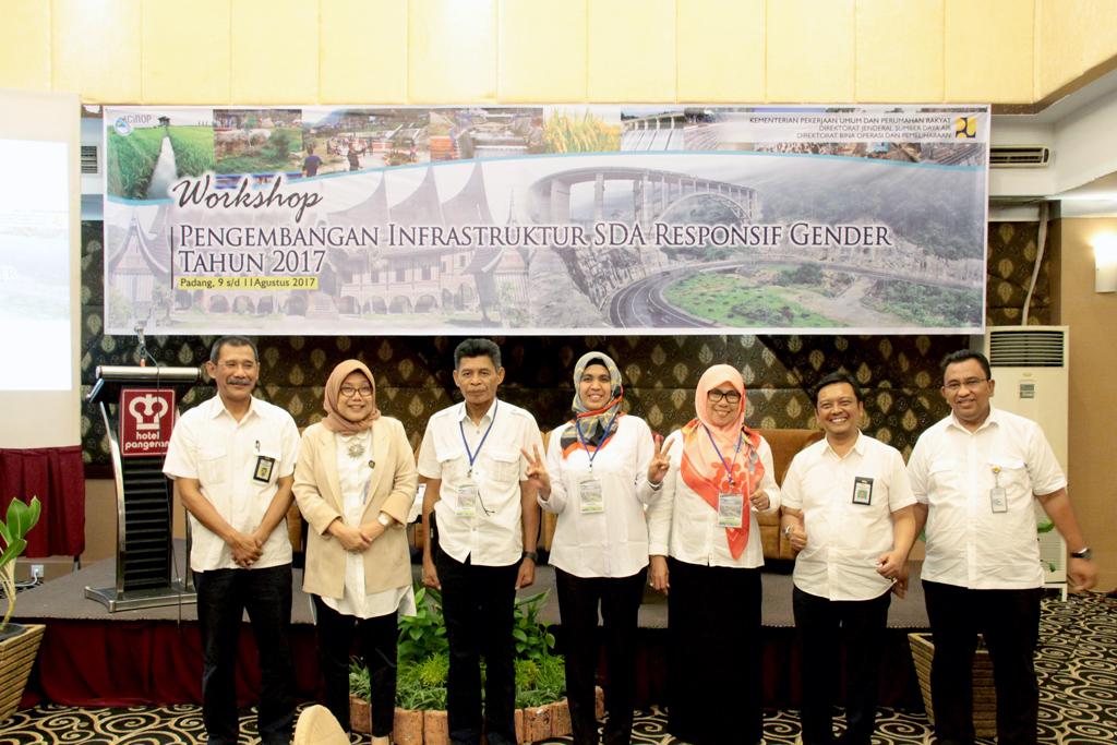 Workshop Pengembangan Infrastruktur SDA Responsif Gender