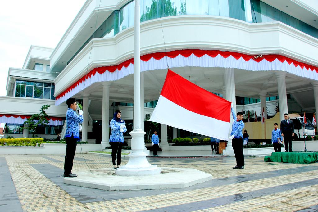 Upacara Bendera Peringatan HUT RI ke 72