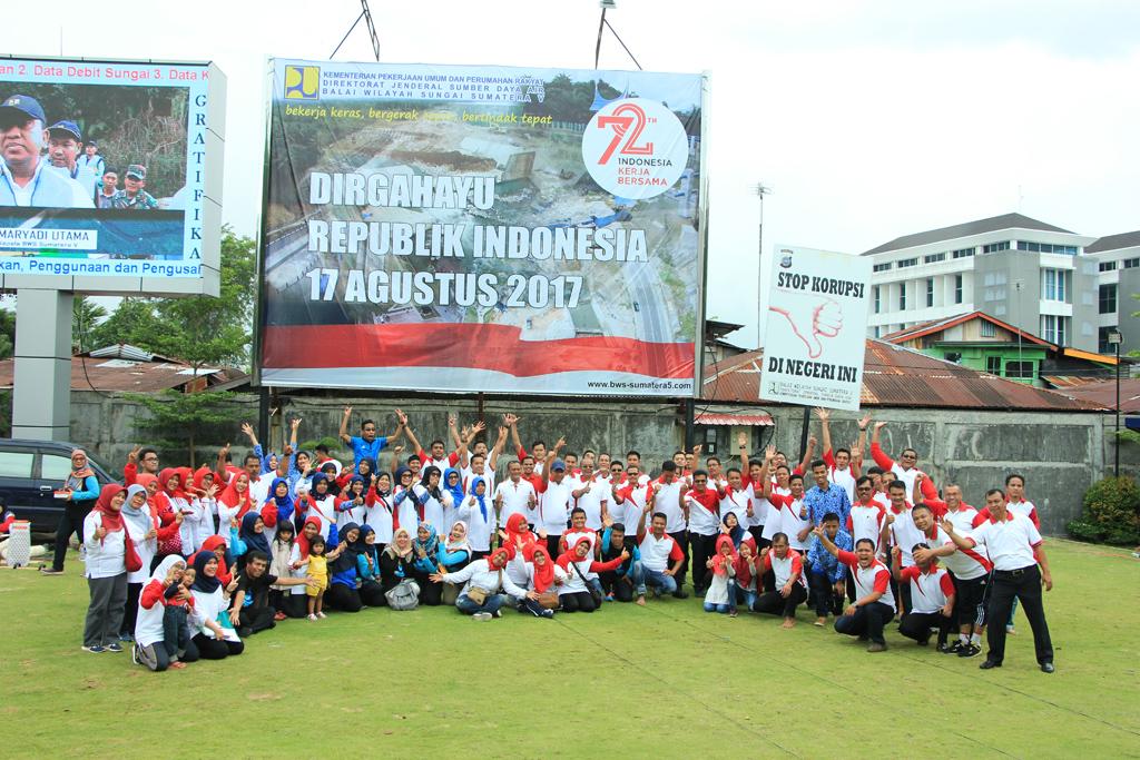 Kegiatan dan Lomba Memperingati HUT RI 72 BWS Sumatera V