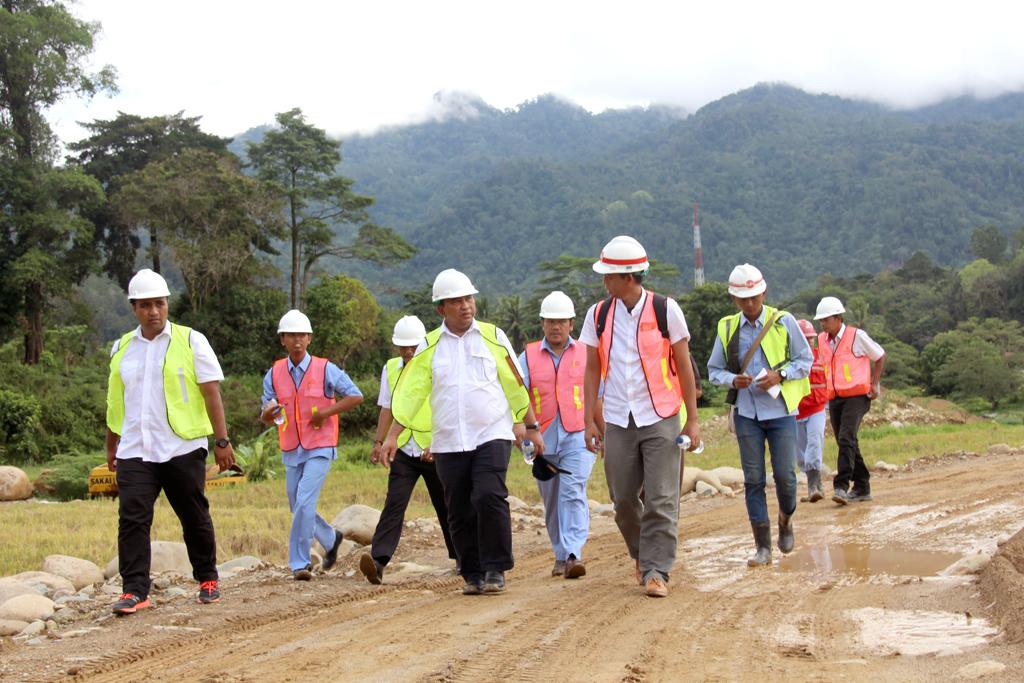 Kunjungan Kepala BWS Sumatera V ke DI Sawah Laweh
