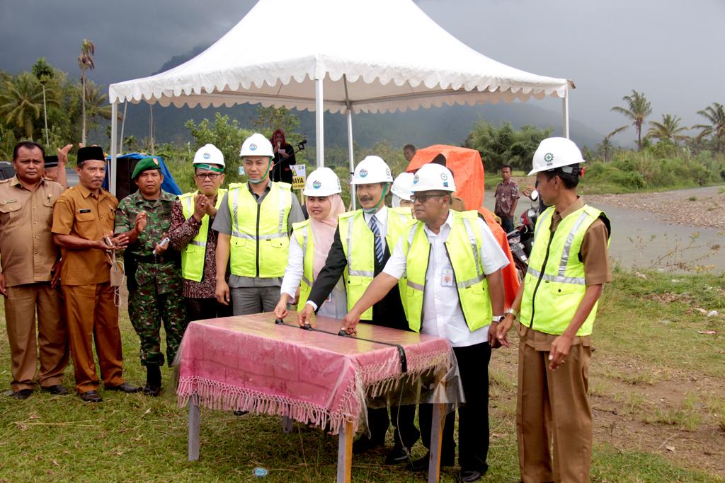 Sosialisasi dan Pencanangan Pembangunan Pengendali Banjir dan Sedimen Batang Bangko