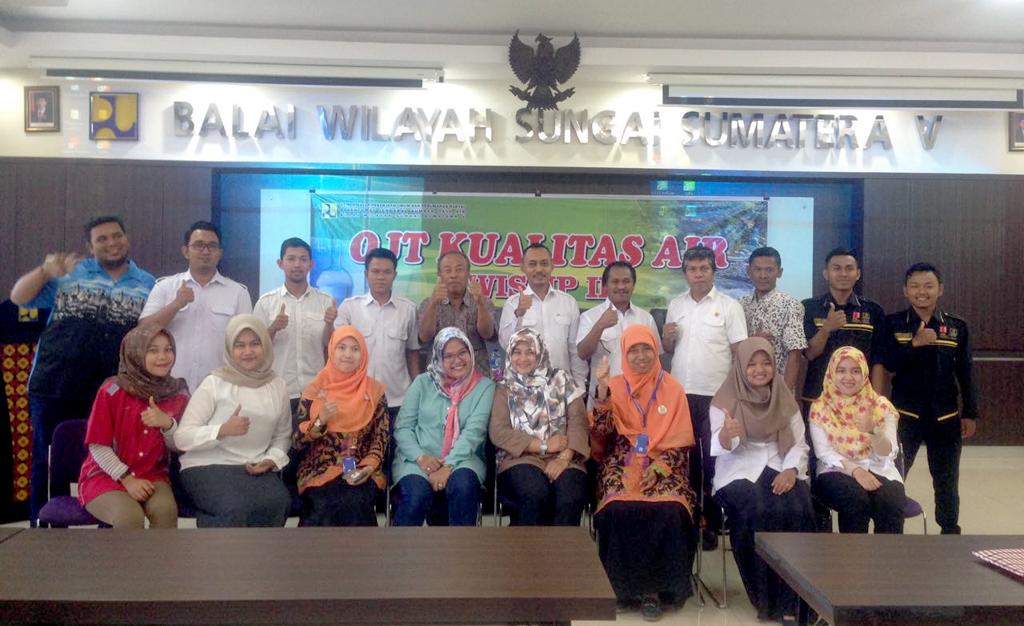 OJT Hidrologi Dan Kualitas Air 2017