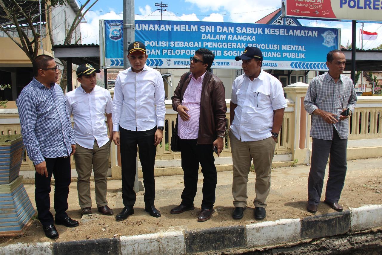 Kunjungan Lapangan Anggota Komisi V DPR RI ke Air Baku Sungai Tanang