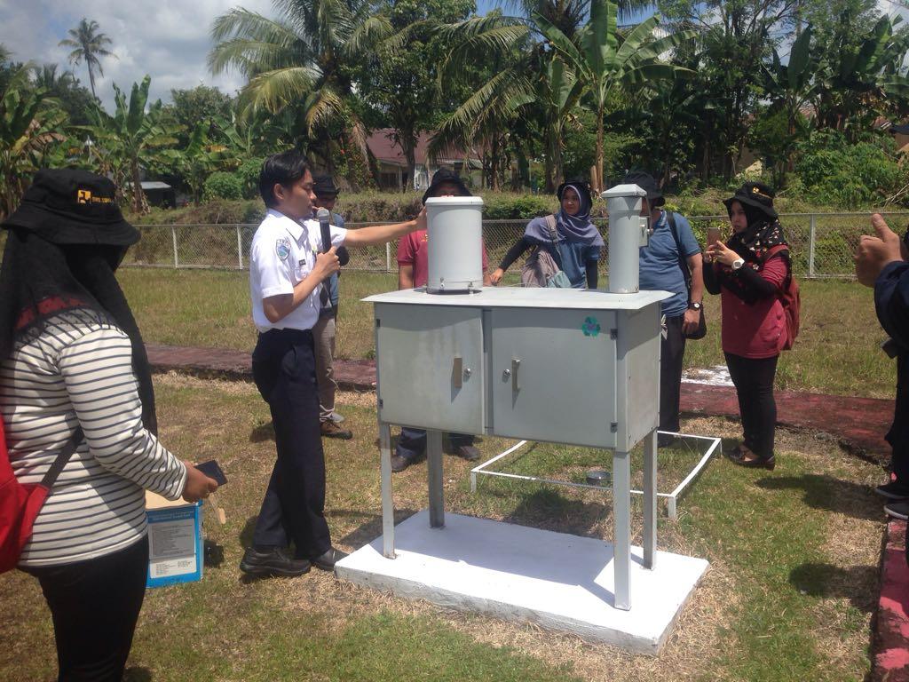 Tingkatkan Kualitas Staf Hidrologi, Peserta OJT Hidrologi  Kunjungan Lapangan ke Stasiun Klimatologi BMKG dan Pos Duga Air di Sicincin