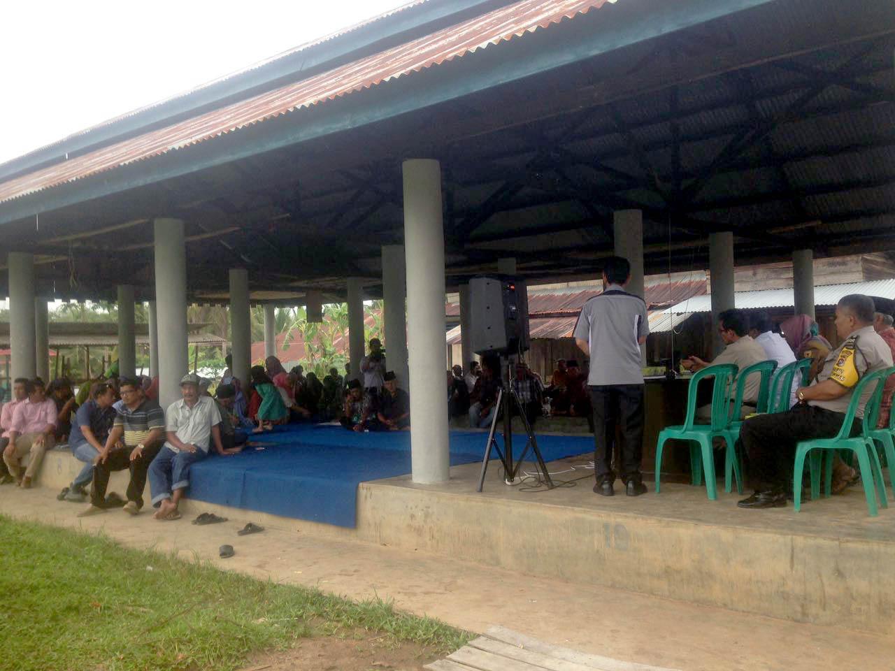 Tidak Pernah Tersentuh Aliran Irigasi, Nagari Taluak Lintau Buo Apresiasi Pembangunan DI Batang Sinamar