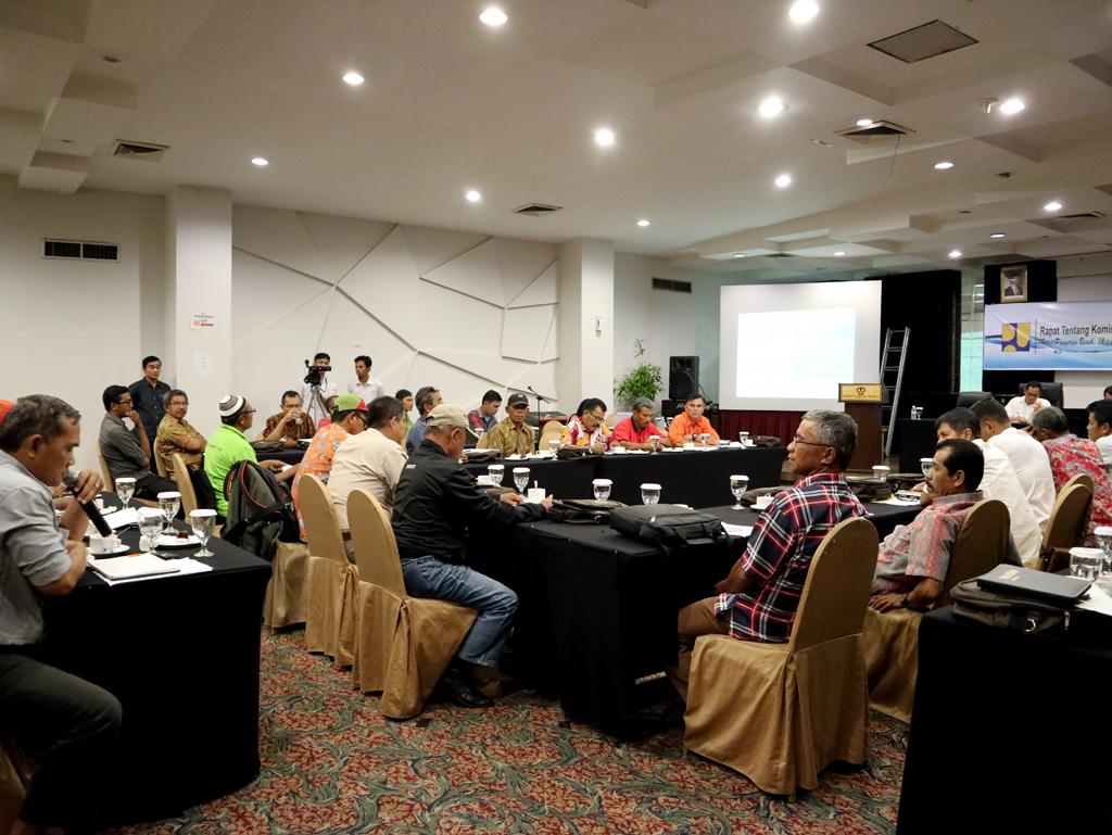 Rapat Tentang Komisi Irigasi (D.I Batang Anai)
