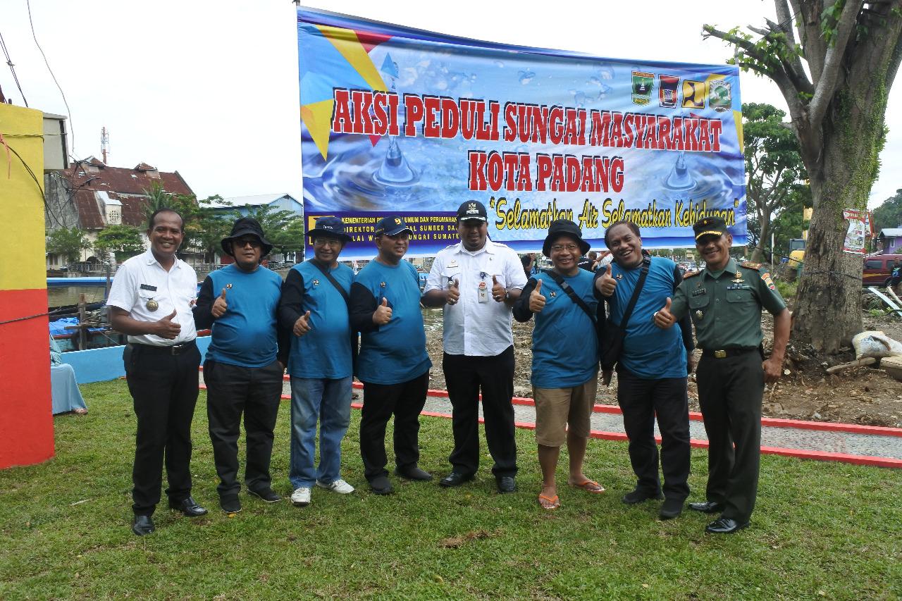 Aksi Peduli Sungai ZAMAN NOW BWS SUMATERA V