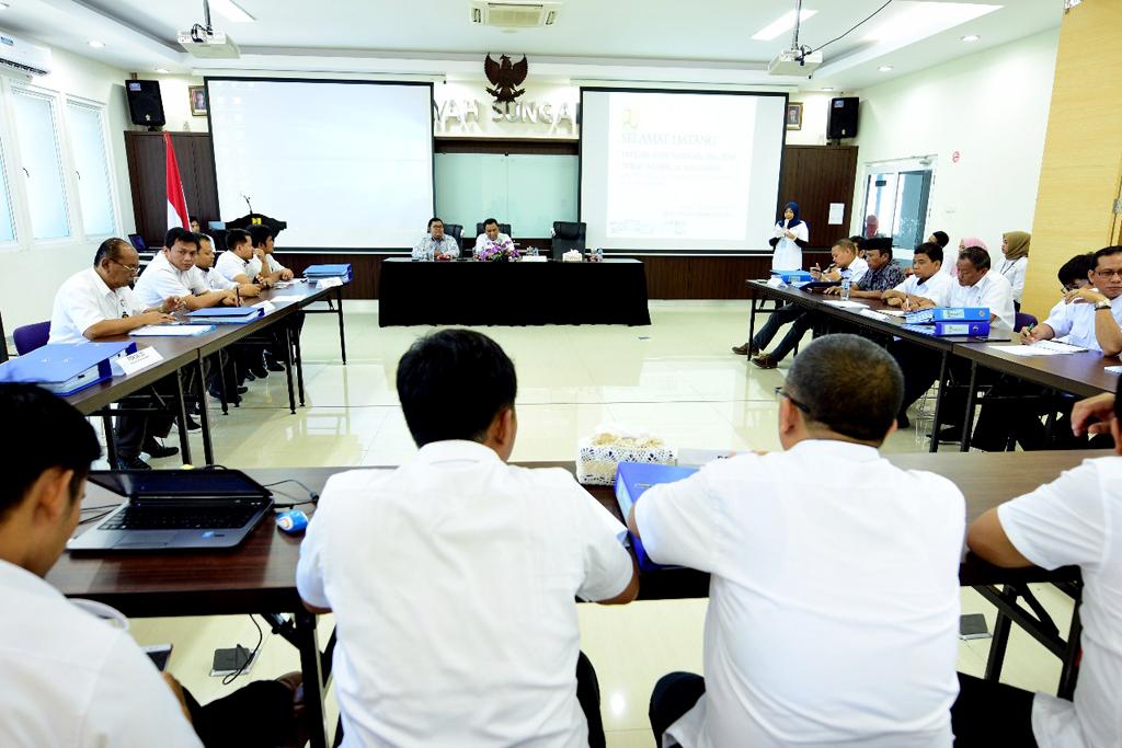 Penilaian Pembangunan Zona Integritas WBK-WBBM Di Lingkungan BWS Sumatera V