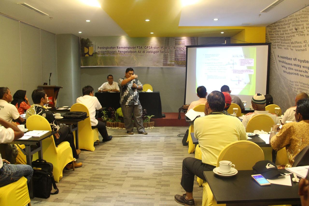 Balai Wilayah Sungai Sumatera V, Gelar Peningkatan Kemampuan P3A, GP3A, IP3A Daerah Irigasi Batang Anai
