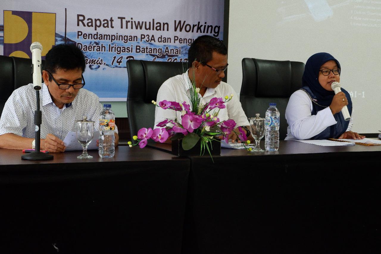 Rapat Kordinasi Working Group Ke-3
