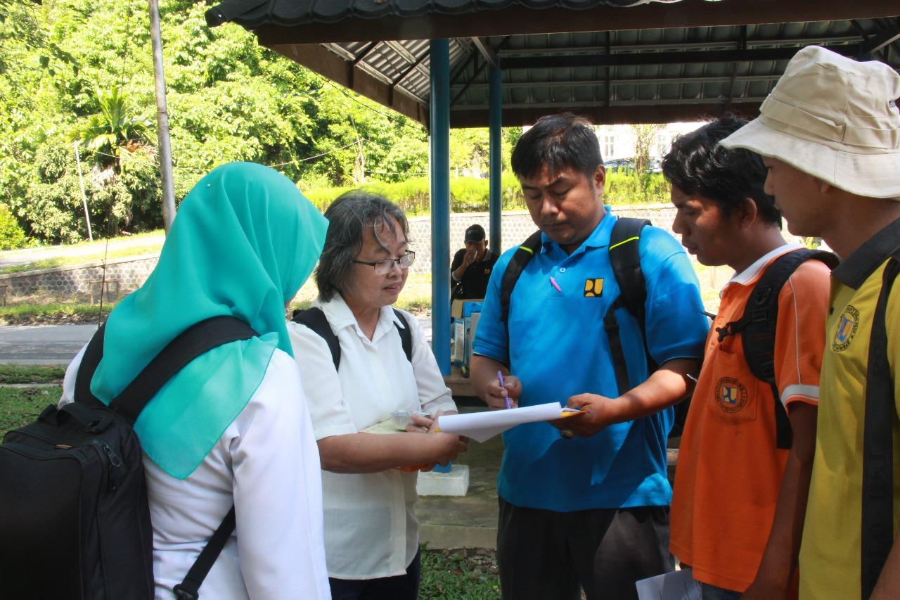 On The Job Training (OJT) Pelaksanaan Rencana Alokasi Air Tahuman (RAAT) Daerah Aliran Sungai Batang Anai