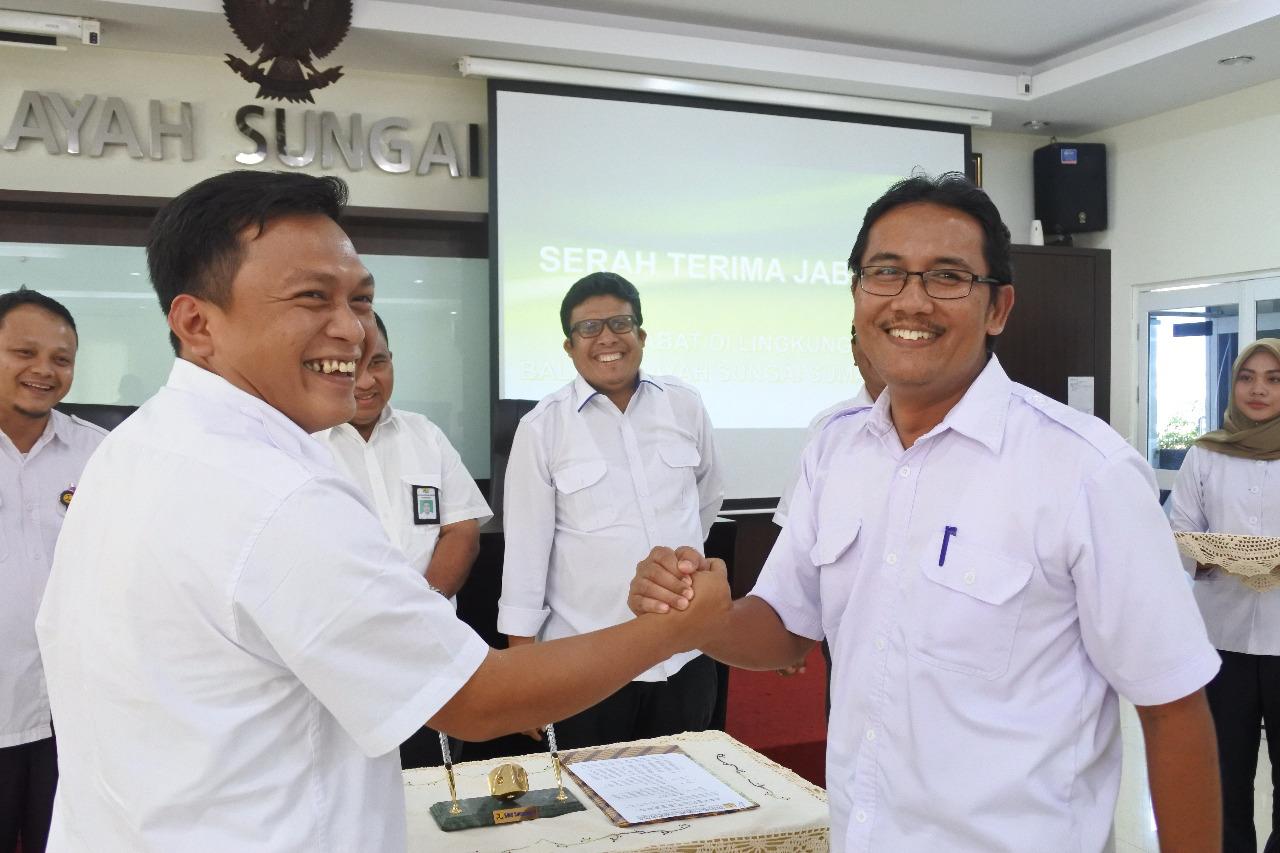 Serah Terima Jabatan Di Lingkungan Balai Wilayah Sungai Sumatera V