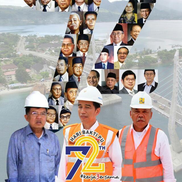 Puncak Peringatan HarBak PU ke 72 di Balai Wilayah Sungai Sumatera V