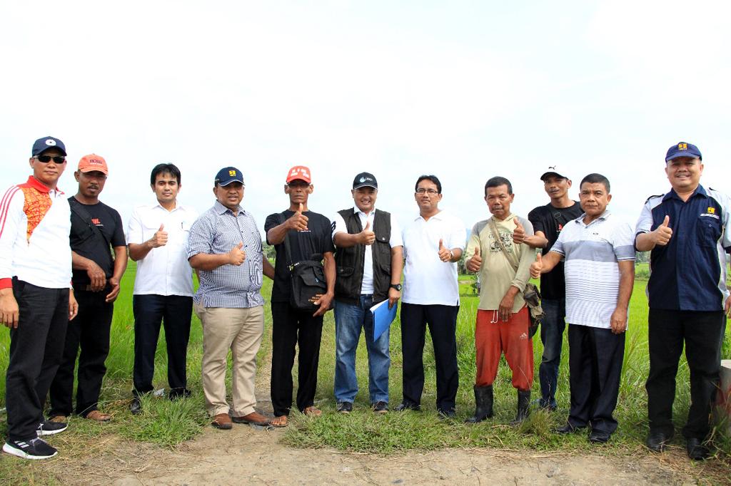 Survey Lapangan Persiapan Program Padat Karya Kementerian PUPR di Kabupaten Dharmasraya