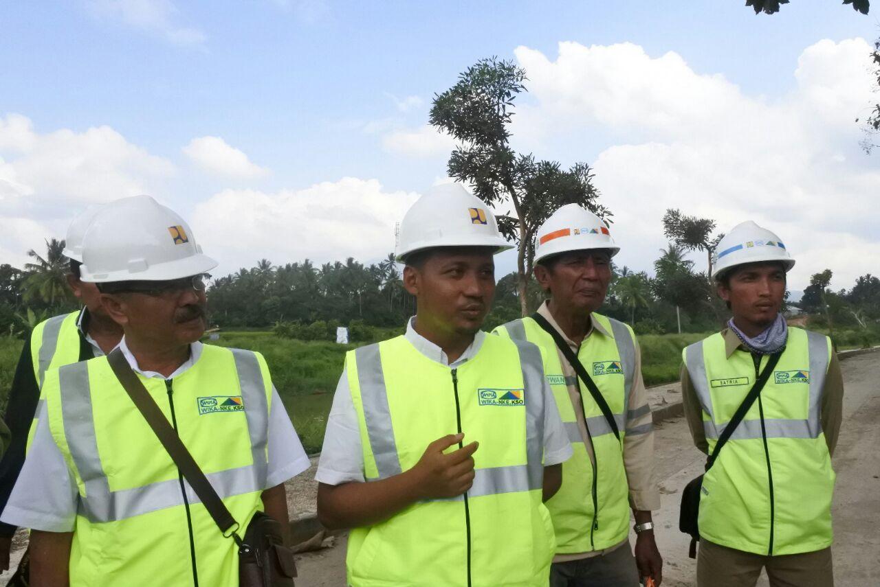Monitoring dan Evaluasi Pelaksanaan Pembangunan Sarana/Prasarana Pengendalian Banjir Batang Agam