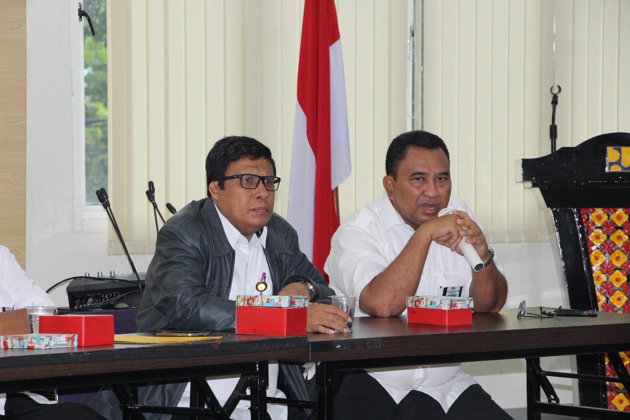 Penandatanganan Kontrak Pembangunan D.I Sawah Laweh Dan Rehabilitasi Saluran D.I Batanghari Tahap II
